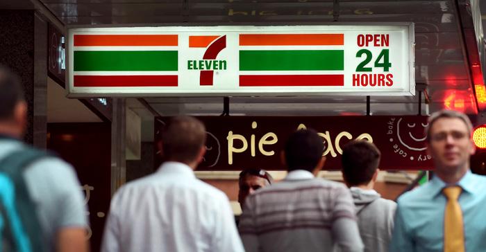 Круглосуточный магазин 7-Eleven