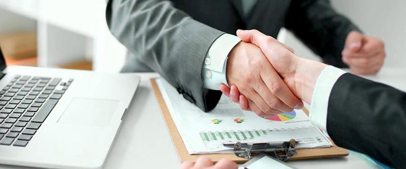 Подписание договора предоставления кредита