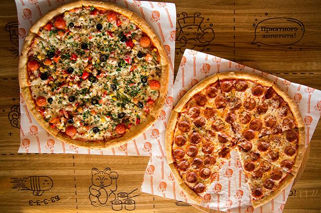 ПиццаФабрика ассортимент