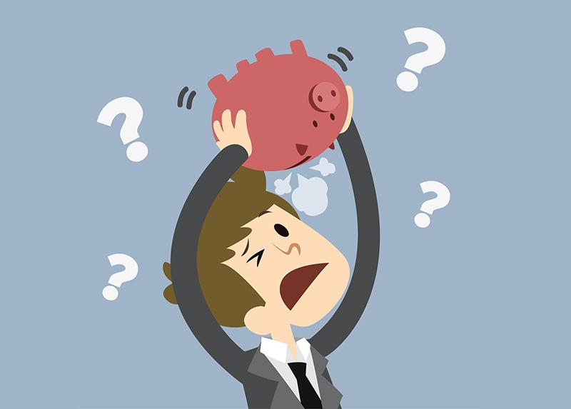 Невозможность оплатить долги