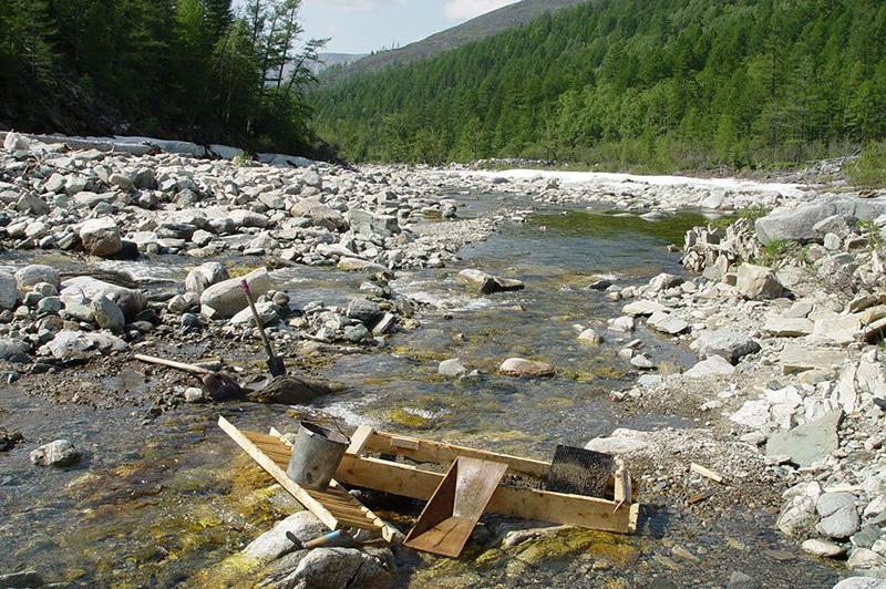 Золотоносные реки Урала
