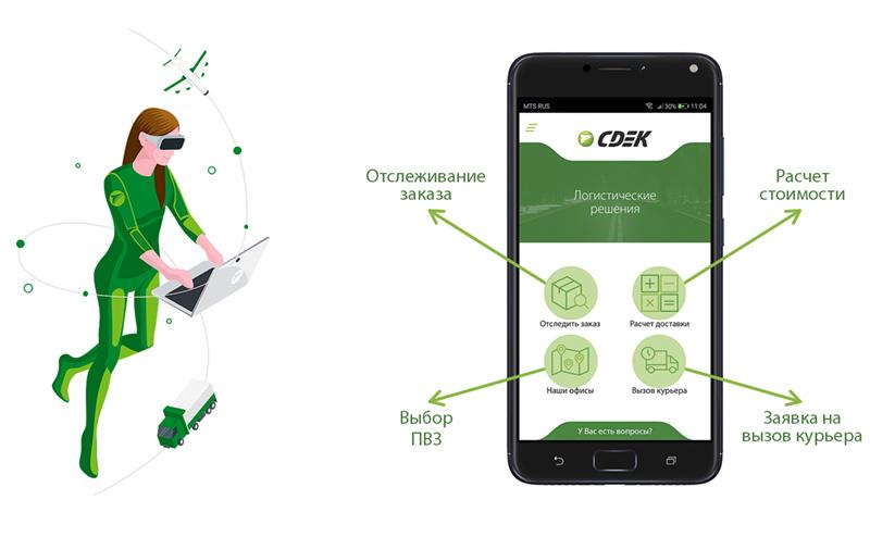 Управление доставкой с ПК или смартфона