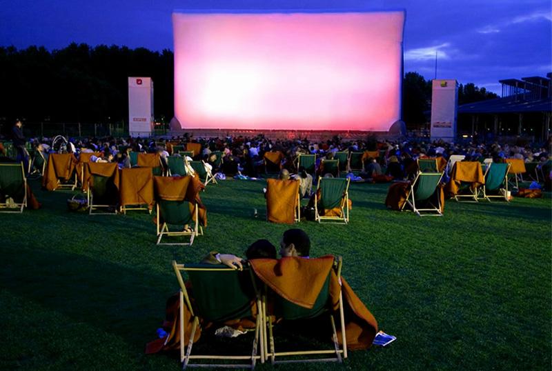 Перспективы открытия кинотеатров под открытым небом