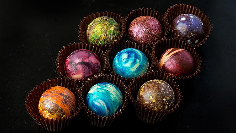 Шоколад изготовленный вручную